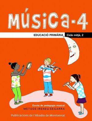 MÚSICA-4. EDUCACIÓ PRIMÀRIA. CICLE MITJÀ, 2