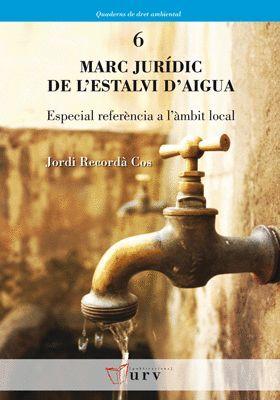 MARC JURÍDIC DE L'ESTALVI D'AIGUA