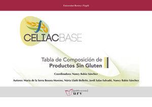 CELIACBASE. TABLA DE COMPOSICIÓN DE PRODUCTOS SIN GLUTEN