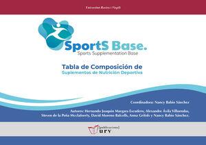 SPORTBASE. TABLA DE COMPOSICIÓN DE SUPLEMENTOS DE NUTRICIÓN DEPORTIVA