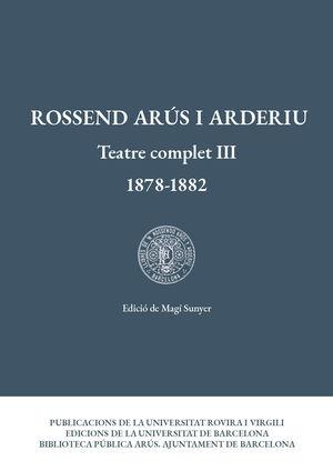 TEATRE COMPLET III (1878-1882)