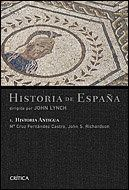 HISTORIA ANTIGUA HISTORIA DE ESPAÑA, VOL. 1