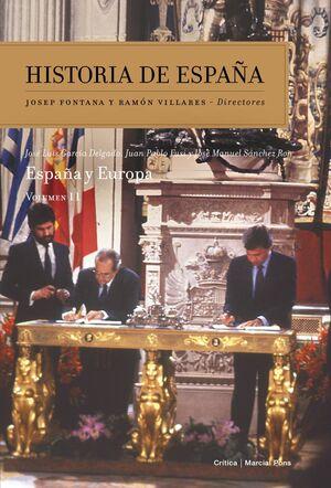 ESPAÑA Y EUROPA HISTORIA DE ESPAÑA VOL. 11