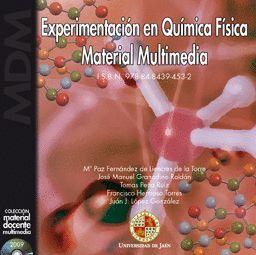 EXPERIMENTACIÓN EN QUÍMICA FÍSICA. MATERIAL MULTIMEDIA