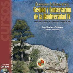 GESTIÓN Y CONSERVACIÓN DE LA BIODIVERSIDAD IV