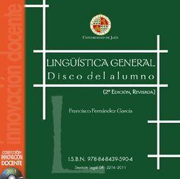 LINGÜÍSTICA GENERAL. DISCO DEL ALUMNO (2º EDICIÓN,REVISADA)
