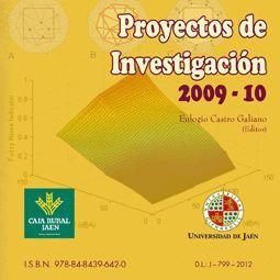 PROYECTOS DE INVESTIGACIÓN 2009-10