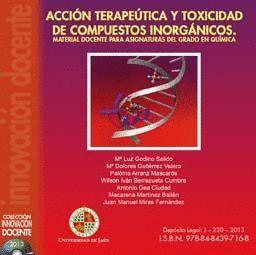 ACCIÓN TERAPEÚTICA Y TOXICIDAD DE COMPUESTOS INORGÁNICOS