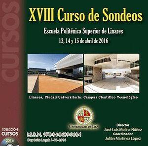 XVIII CURSO DE SONDEOS
