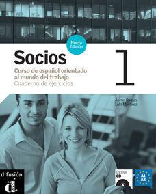 SOCIOS 1. NUEVA EDICIÓN. CUADERNO DE EJERCICIOS + CD