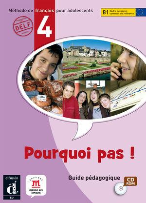 POURQUOI PAS ! 4. LIBRO DEL ALUMNO + CD