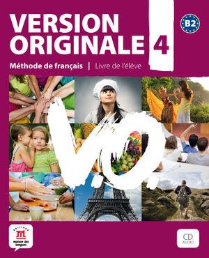 VERSION ORIGINALE B2. LIBRO DEL ALUMNO + CD