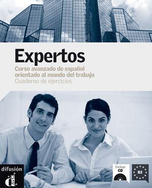 EXPERTOS. CUADERNO DE EJERCICIOS. NIVEL B2