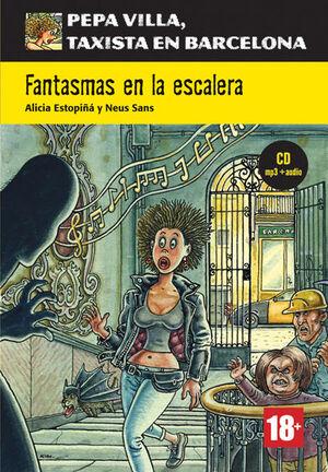 COLECCIÓN PEPA VILLA. FANTASMAS EN LA ESCALERA + CD