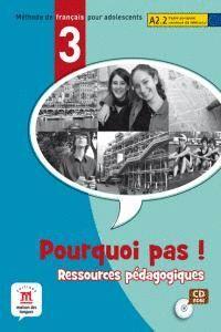 RESSOURCES PEDAGOGIQUES DE POURQUOI PAS 3 PACK