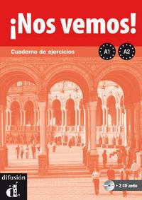 ¡NOS VEMOS! A1-A2. CUADERNO DE EJERCICIOS + CD