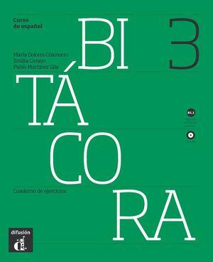 BITÁCORA 3. CUADERNO DE EJERCICIOS + CD. NIVEL B1.1