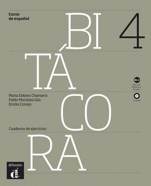 BITÁCORA 4. CUADERNO DE EJERCICIOS + CD. NIVEL B1.2