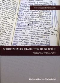 SCHOPENHAUER TRADUCTOR DE GRACIÁN. DIÁLOGO Y FORMACIÓN