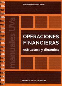 OPERACIONES FINANCIERAS. ESTRUCTURA Y DINÁMICA