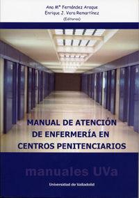 MANUAL DE ATENCIÓN DE ENFERMERÍA EN CENTROS PENITENCIARIOS