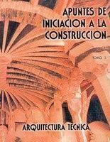 APUNTES DE INICIACIÓN A LA CONSTRUCCIÓN III