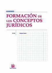 FORMACIÓN DE LOS CONCEPTOS JURDICOS