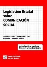 LEGISLACIÓN ESTATAL SOBRE COMUNICACIÓN SOCIAL