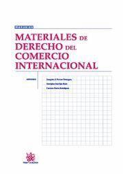 MATERIALES DE DERECHO DEL COMERCIO INTERNACIONAL