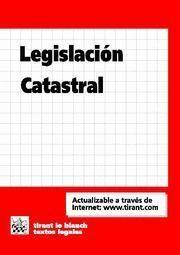 LEGISLACIÓN CATASTRAL