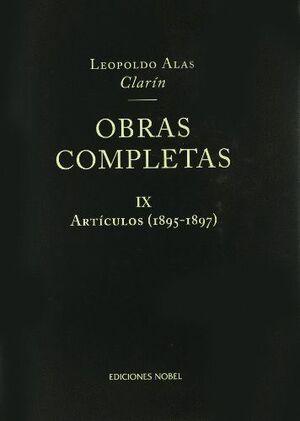 OBRAS COMPLETAS DE CLARÍN IX. ARTÍCULOS 1895-1897