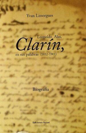 CLARÍN, EN SUS PALABRAS 1852-1901