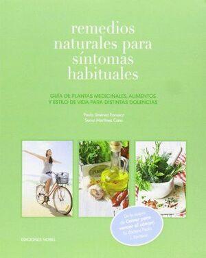 REMEDIOS NATURALES PARA SÍNTOMAS HABITUALES