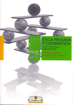 ÉTICA PENSADA Y COMPARTIDA