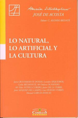 LO NATURAL, LO ARTIFICIAL Y LA CULTURA