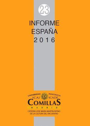 INFORME ESPAÑA 2016