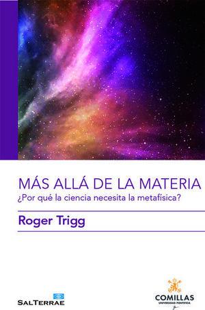 MÁS ALLÁ DE LA MATERIA