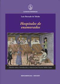 HOSPITALES DE ENAMORADOS EDICIÓN CRTICA