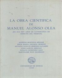 OBRA CIENTIFICA DE MANUEL OLOSO OLEA,LA
