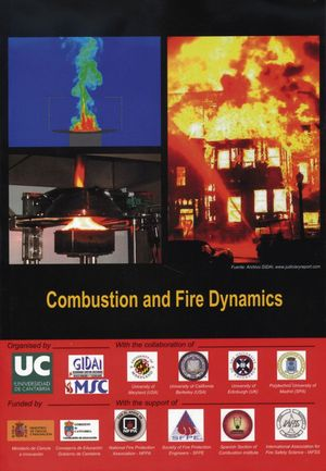 INTERNATIONAL CONGRESS COMBUSTION AND FIRE DYNAMICS. I, OCTUBRE-2010. SANTANDER (ESPAÑA)