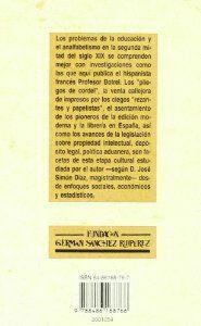 LIBROS, PRENSA Y LECTURA EN LA ESPAÑA DEL SIGLO XIX
