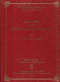 SOLACES DE UN VALLISOLETANO SETENTON. EL VALLADOLID DE 1830 A 1847. COSTUMBRES Y TIPOS