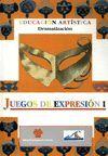 JUEGOS DE EXPRESIÓN I. EDUCACIÓN ARTÍSTICA. DRAMATIZACIÓN