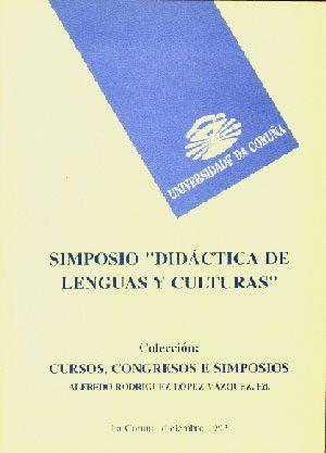 SIMPOSIO: DIDÁCTICA DE LENGUAS Y CULTURAS