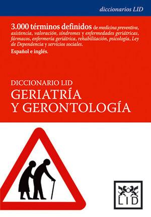 DICCIONARIO LID GERIATRÍA Y GERONTOLOGÍA
