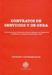 CONTRATOS DE SERVICIOS Y DE OBRA