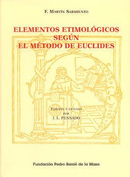 ELEMENTOS ETIMOLÓGICOS SEGÚN EL MÉTODO DE EUCLIDES