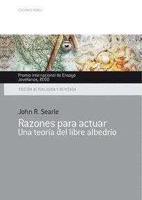 RAZONES PARA ACTUAR. PREMIO INTERNACIONAL DE ENSAYO JOVELLANOS 2000