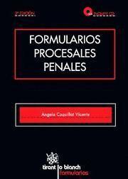 FORMULARIOS PROCESALES PENALES