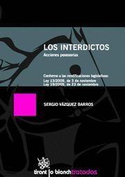 LOS INTERDICTOS ACCIONES POSESORIAS